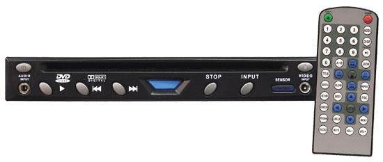 Pyle - PLD115 , On the Road , Headunits - Stereo Receivers , Half Din Multimedia Disc/MP3 Player