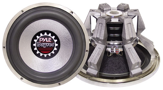 Pyle - PLDW15D , On the Road , Vehicle Subwoofers , 15'' 3000 Watt High Power Triple Magnet Subwoofer