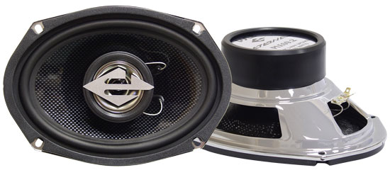 Pyle - PLE69.2 , On the Road , Vehicle Speakers , 6'' x 9'' Two-Way Coaxial Speakers