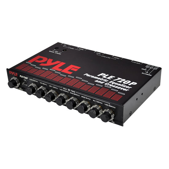 Pyle - PLE720P , On the Road , Equalizers - Crossovers , 7 Band Parametric Equalizer & Crossover