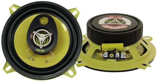 Pyle - PLG5.2 , On the Road , Vehicle Speakers , 5.25'' 140 Watt Two-Way Speakers