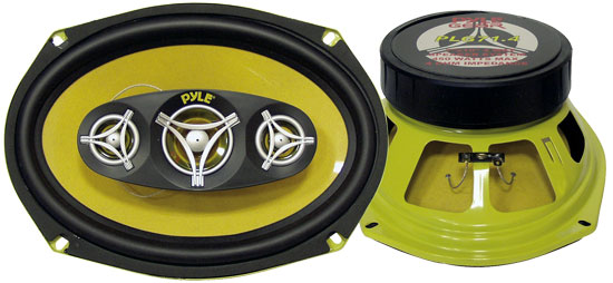 Pyle - PLG71.4 , Car Audio , Car Speakers , 7x10'' Car Speakers , 7'' x 10'' 450 Watt Four-Way Speakers