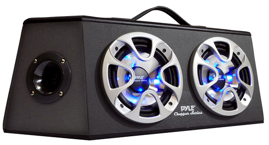 Pyle - PLHB26 , On the Road , Subwoofer Enclosures , 800 Watt 6.5'' 4  Way Hatchback Speaker Enclosure System