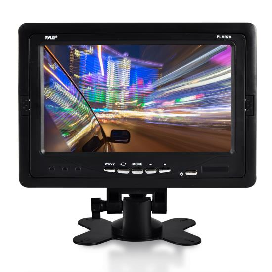 Pyle - PLHR70 , On the Road , Video Monitors , 7'' Widescreen LCD Video Screen Monitor Display (Vehicle, Automobile, Mobile Application)