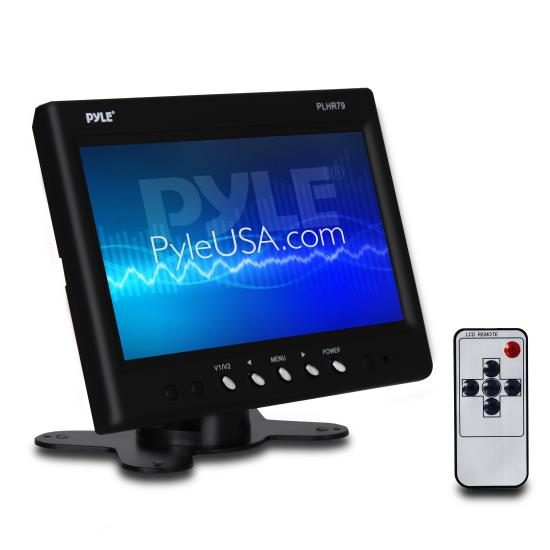 Pyle - PLHR79 , On the Road , Video Monitors , 7'' Widescreen TFT Headrest Monitor