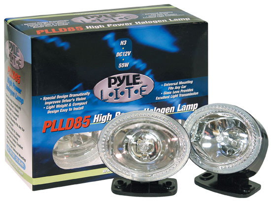 Pyle - PLLD85WT , Disc , Pyle Lite Series High Power White Halogen Lamp Set