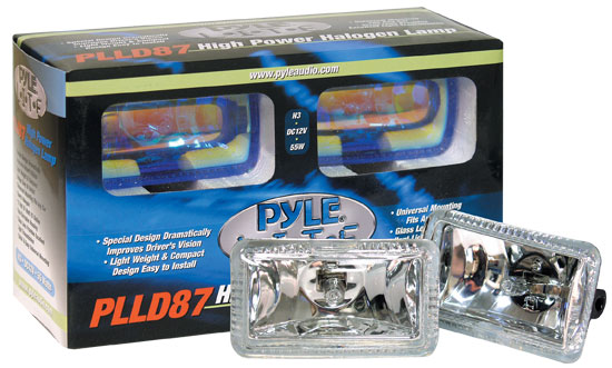 Pyle - PLLD87WT , Disc , Pyle Lite Series High Power White Halogen Lamp Set
