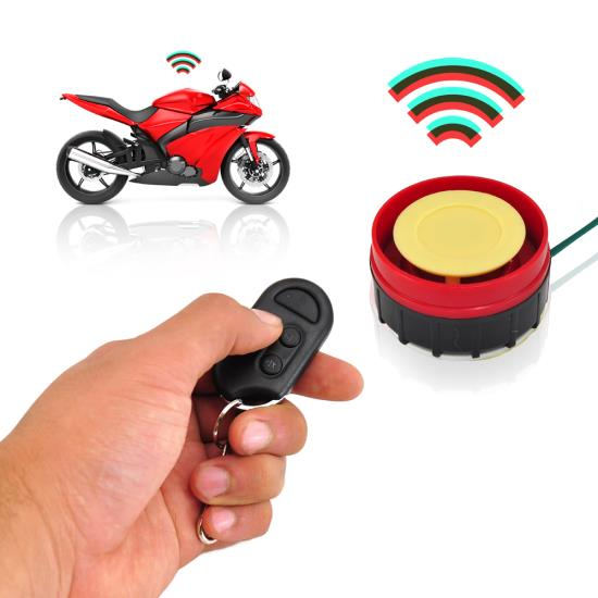Pyle - UPLMCWD15 , On the Road , Alarm - Security Systems , Watch Dog Motorcycle Vehicle Alarm Security System, Includes (2) ECU Control Transmitters, Anti-Hijack Engine Immobilization, High-Power Piezo Speaker