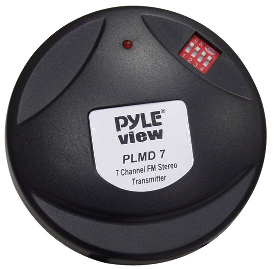 Pyle - PLMD7 , Mobile Video / Navigations , FM Modulators & Transmitters , 7 Channel Wireless FM Transmitter