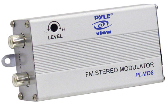 Pyle - PLMD8 , On the Road , iPod/MP3 Audio Interface - Ground Loop Isolators , Digital 7 Channel  FM Modulator