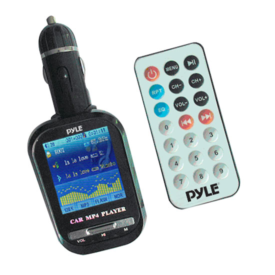 Pyle - PLMP4C4 , Mobile Video / Navigations , FM Modulators & Transmitters , Plug-in Car Video & MP3 Player w/ 2'' LCD TFT Screen, Built In 2GB Memory, SD Card Support, FM Transmitter & Image Viewer