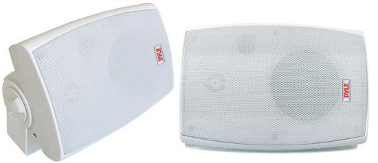 Pyle - PLMR44 , Marine and Waterproof , Home Speakers , Home and Office , Home Speakers , Sound and Recording , Home Speakers , 4'' 250 Watt Two Way Sealed Speaker System