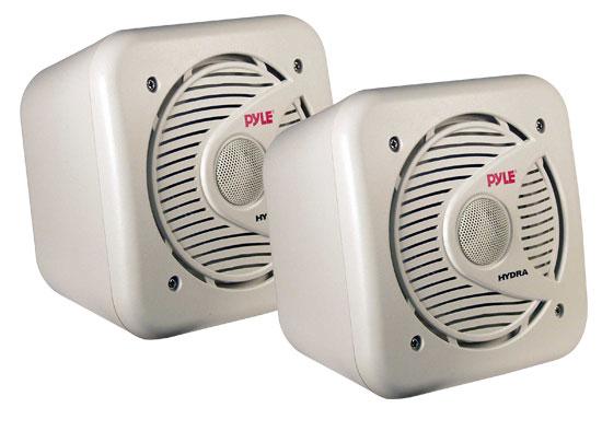 Pyle - PLMR53 , Used , 5.25'' 150 Watt Two-Way Shielded Marine Water Proof Speakers