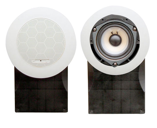 Pyle - PLMR66W , Marine Audio & Video , Speaker Enclosures , 5''  High Quality PP Cone & PU Edge 500 Watts  Marine Speakers (White)