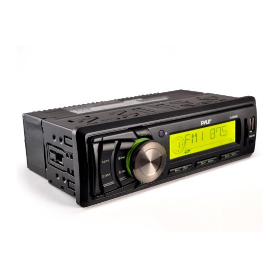 Pyle - PLMR86B , Marine Audio & Video , CD / MP3 Receivers , AM/FM-MPX Electronic Tunning Radio w/USB/SD/MMC (BLACK COLOR UNIT)