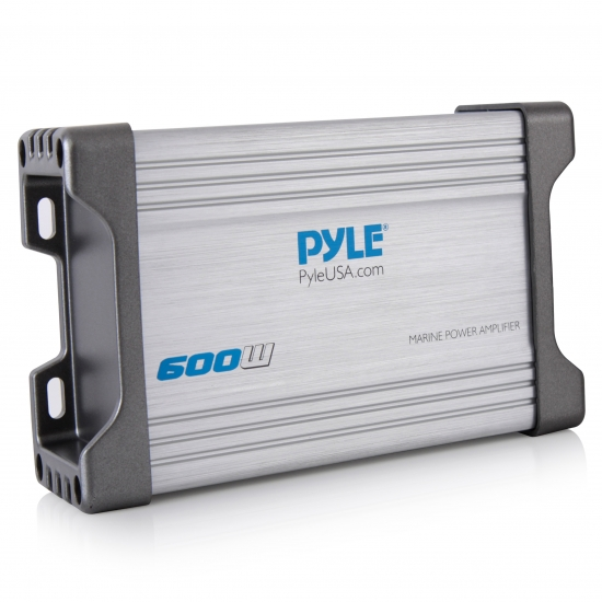 Pyle - PLMRMP4A , On the Road , Vehicle Amplifiers , 4 Channel Waterproof MP3 / Ipod Marine Power Amplifier