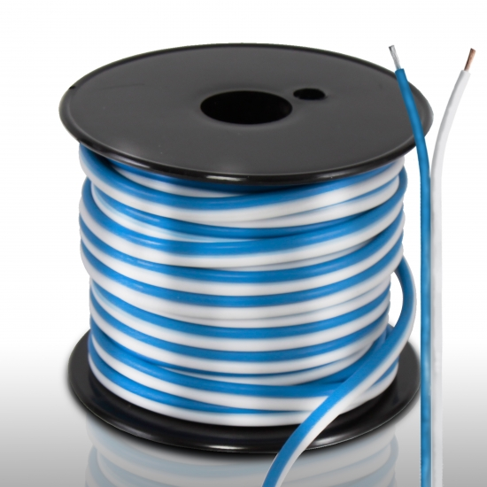 Pyle - PLMRSW50 , On the Road , Wires - Cables - Installation , 18 Gauge 50 FT Stereo Marine Grade Speaker Wire