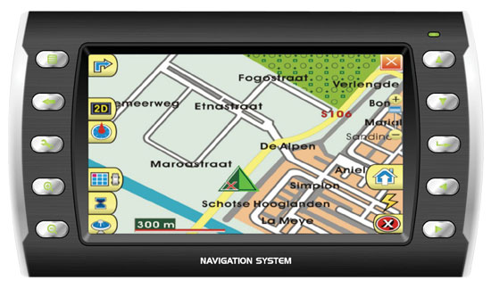 "Pyle - PLND42 , Mobile Video / Navigations , Car Navigation , Universal GPS Portable Navigation System w/4"" Touch Screen"
