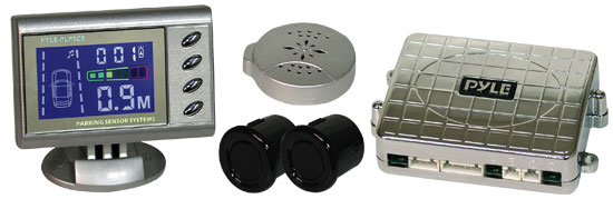 Pyle - PLPSC8 , Car Security , Parking Sensor Systems , 2 Parking Sensor System with VFD Display & Speaker
