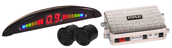 Pyle - PLPSE3 , On the Road , Alarm - Security Systems , 2 Parking Sensor System & Led Display