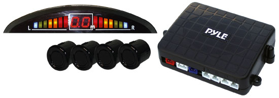 Pyle - PLPSE4P , Car Security , Parking Sensor Systems , 4 Parking Sensor System & Led Display
