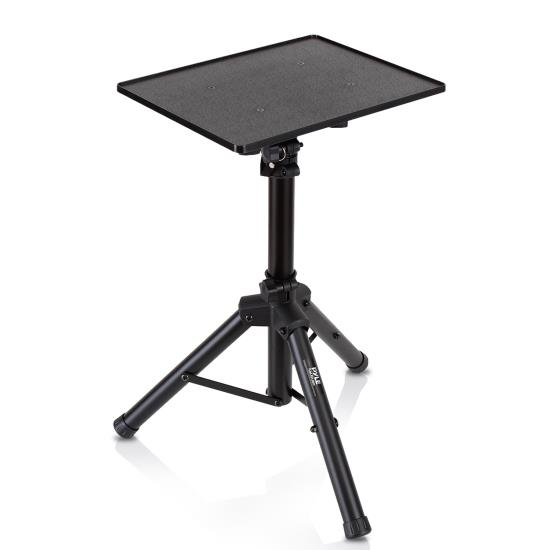 Pyle - PLPTS2 , Musical Instruments , Mounts - Stands - Holders , Sound and Recording , Mounts - Stands - Holders , Universal Laptop Notebook Computer DJ Equipment Studio Stand Mount Holder, Height Adjustable