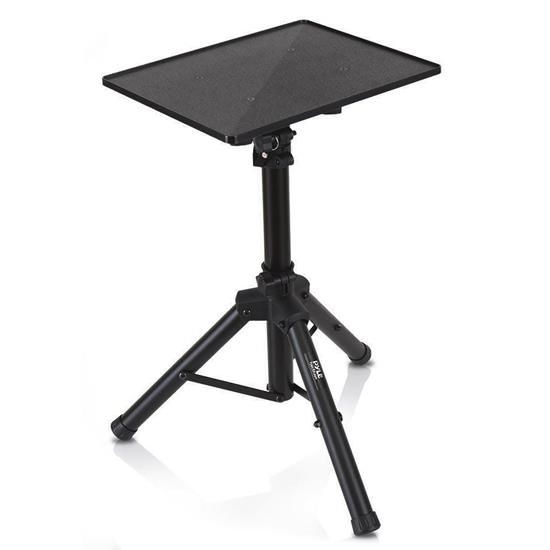 Pyle - PLPTS4 , DJ Equipment , Stands , Pro DJ Laptop Tripod Adjustable Stand For Notebook Computer