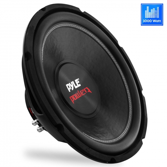 Pyle - PLPW10D , On the Road , Vehicle Subwoofers , 10'' 1000 Watt Dual Voice Coil 4 Ohm Subwoofer