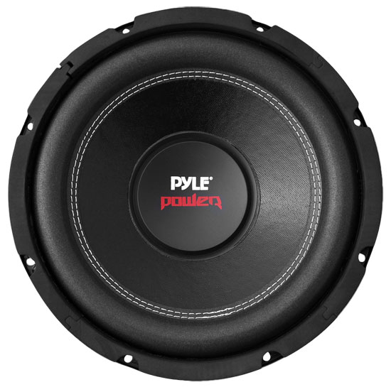 Pyle - PLPW12D , On the Road , Vehicle Subwoofers , 12'' 1600 Watt Dual Voice Coil 4 Ohm Subwoofer