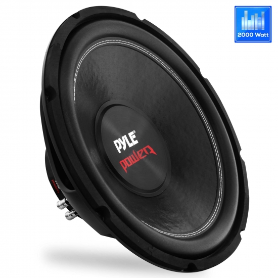 Pyle - PLPW15D , On the Road , Vehicle Subwoofers , 15'' 2000 Watt Dual Voice Coil 4 Ohm Subwoofer