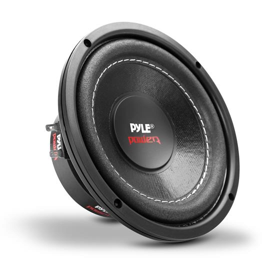Pyle - PLPW6D , On the Road , Vehicle Subwoofers , 6.5'' 600 Watt Dual Voice Coil 4 Ohm Subwoofer