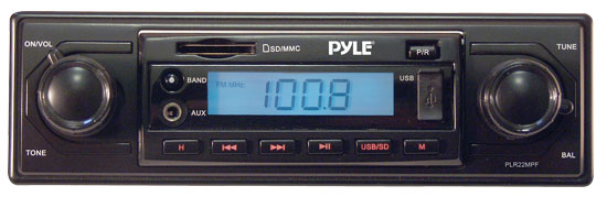Pyle Plr22mpf On The Road Headunits Stereo Receivers