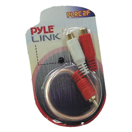 Pyle - PLRC2F , Sound and Recording , Cables - Wiring - Adapters , Dual Female to Single Male RCA ''Y'' Connector