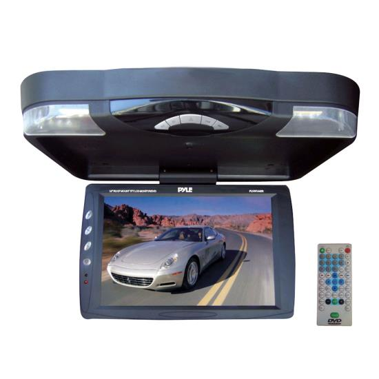 Pyle - PLRD143IF , On the Road , Overhead Monitors - Roof Mount , 14.1'' Roof Mount TFT-LCD Monitor w/ Built in Multimedia Disc Player