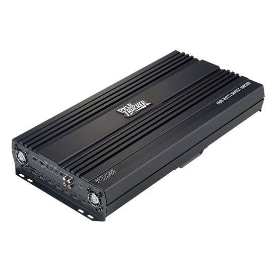 Pyle - PLTA580 , On the Road , Vehicle Amplifiers , 2 Channel 2000 Watt 24Volt Truck/Bus/RV Bridgeable Mosfet Amplifier