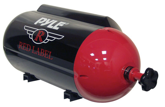 Pyle - PLTB8P , On the Road , Subwoofer Enclosures , 8'' 400 Watt Passive Nitrous Tank Looking Subwoofer Tube
