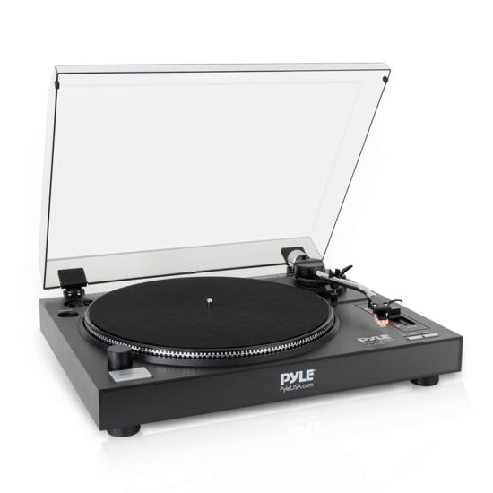 Pyle - PLTTB1 , DJ Equipment , Turntables , Professional Belt-Drive Turntable