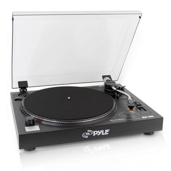 Pyle - PLTTB3U , DJ Equipment , Turntables , Belt Drive USB Turntable with Digital Recording Software
