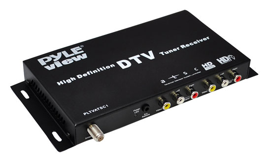 Pyle - PLTVATSC1 , On the Road , Plug-in Audio Accessories - Adapters , ATSC Digital Car HDTV Tuner/Receiver
