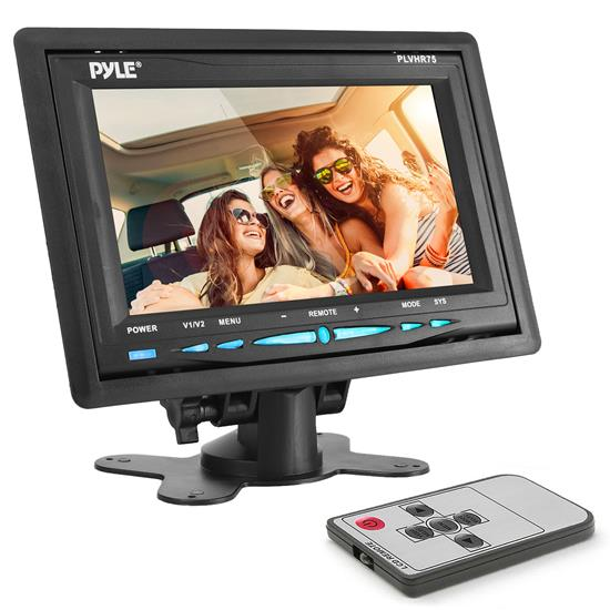 Pyle - PLVHR75 , Mobile Video / Navigations , Headrest Monitors , 7'' TFT Wide Screen Headrest Monitor