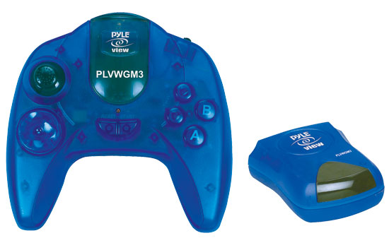 Pyle - PLVWGM3 , On the Road , Plug-in Audio Accessories - Adapters , Wireless 50 Game Mobile Video Gaming System