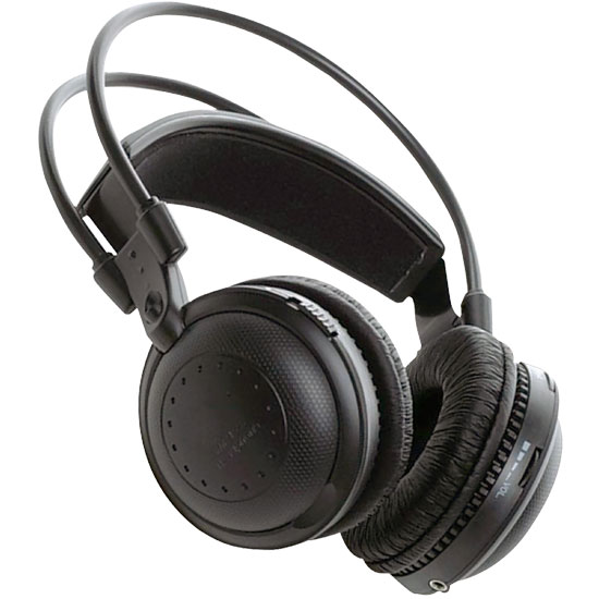 Pyle - PLVWH2 , On the Road , Wireless Headphones , Dual A/B Channel Infrared Wireless Stereo Headphone