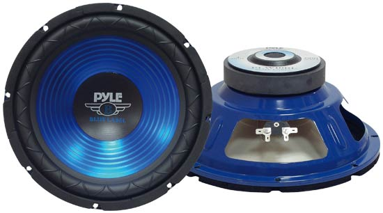 Pyle - PLW10BL , On the Road , Vehicle Subwoofers , 10'' 600 Watt Subwoofer
