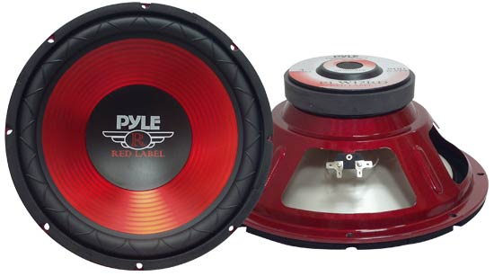 Pyle - PLW12RD , On the Road , Vehicle Subwoofers , 12'' 800 Watt Subwoofer