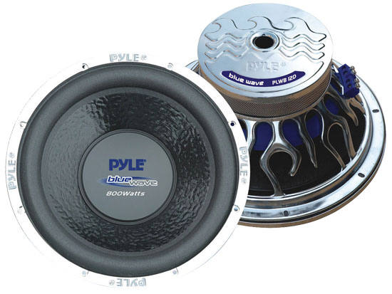 "Pyle - PLWB12D , On the Road , Vehicle Subwoofers , 12"" 800 Watt DVC Subwoofer"