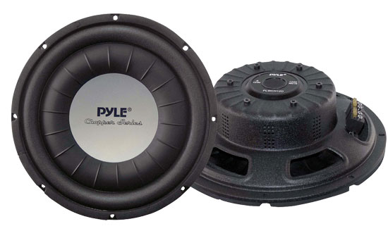 Pyle - PLWCH12D , On the Road , Vehicle Subwoofers , 12'' 1200 Watt Ultra Slim DVC Subwoofer