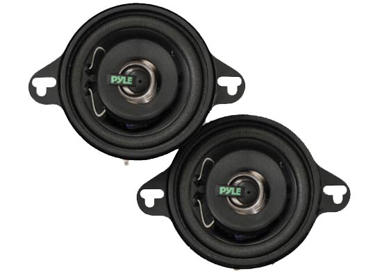 Pyle - PLX32 , Car Audio , Car Speakers , 3.5'' Car Speakers , 3.5'' 100 Watt Two-Way Speakers
