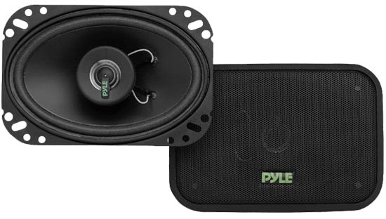 Pyle - PLX462 , Car Audio , Car Speakers , 4x6'' Car Speakers , 4'' x 6'' 160 Watt Two-Way Speakers