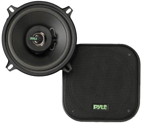 Pyle - PLX52 , On the Road , Vehicle Speakers , 5.25'' 120 Watt Two-Way Speakers