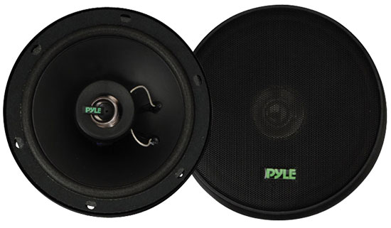 Pyle - PLX62 , On the Road , Vehicle Speakers , 6.5'' 160 Watt Two-Way Speakers